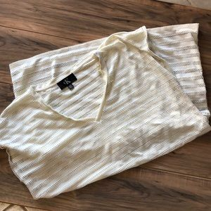 Calvin Klein sz XXL swimsuit cover up ivory